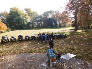 Firmenevent mit Quad